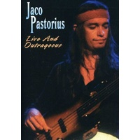 Jaco Pastorius - Live and Outrageous / all region DVD