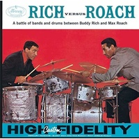 Buddy Rich and Max Roach - Rich versus Roach