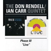 Don Rendell / Ian Carr Quintet - Phase III / Live