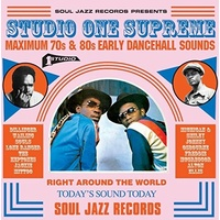 Various Artists - Studio One Supreme: Maximum 70s & 80s Early Dancehall Sounds
