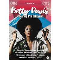 motion picture DVD - Betty Davis: They Say I'm Different