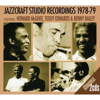 Howard McGhee, Teddy Edwards & Benny Bailey - Jazzcraft Studio Recordings 1978-79 / 2CD set