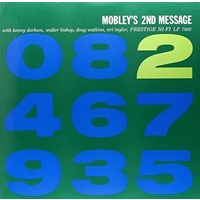 Hank Mobley - Mobley's 2nd Message - Hybrid Mono SACD