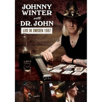 Johnny Winter with Dr. John / motion picture DVD - Live in Sweden 1987
