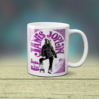 Janis Joplin Kozmic Blues - Coffee Mug