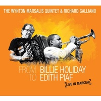 Wynton Marsalis Quintet & Richard Galliano - From Billie Holiday To Edith Piaf: Live In Marciac