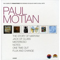 Paul Motian - the complete remastered recordings on Black Saint & Soul Note