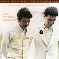 Carlos Santana + Mahavishnu John McLaughlin - Love Devotion Surrender - Hybrid SACD