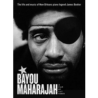 motion picture DVD - Bayou Maharajah: the Life and Music of New Orleans piano legend James Booker