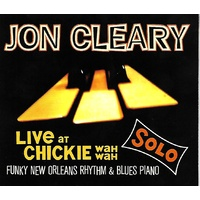 Jon Cleary - Live at Chickie Wah Wah: Solo