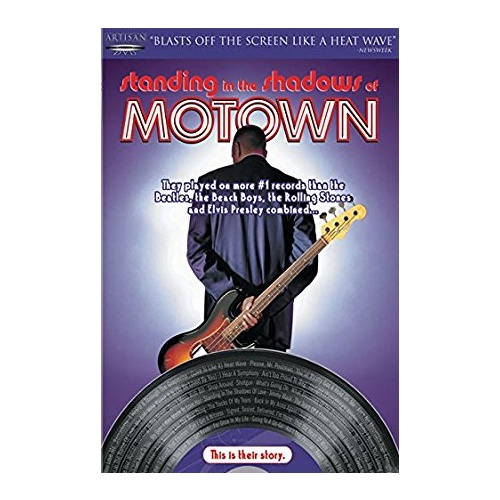 Motion Picture - Standing in the Shadows of Motown(Region 1 DVD)