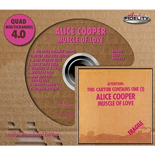 Alice Cooper - Muscle of Love - Hybrid SACD