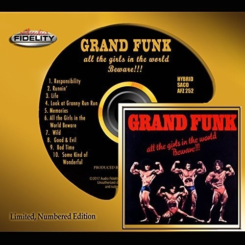 Grand Funk - all the girls in the world Beware!!! - Hybrid SACD