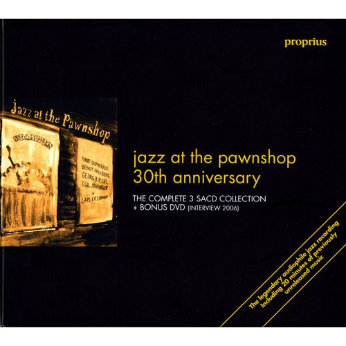 Arne Domnerus -Jazz At The Pawnshop 30th Anniversary - Hybrid SACD